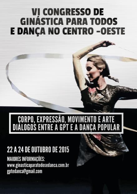 VI Congresso de Ginástica para Todos e Dança no Centro Oeste